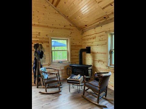 24 x32 Log cabin Amish built