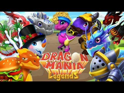 15 NEW DRAGONS! New DML Update Dragons! - Dragon Mania Legends (Update Discussion #3)