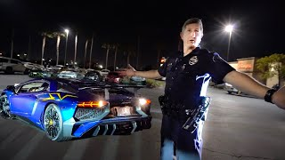COP UNLAWFULLY DEMANDS SUPERCARS LEAVE...
