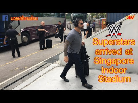 WWE Live Singapore 2017 - WWE Superstars arrived at Singapore Indoor Stadium - June 28, 2017