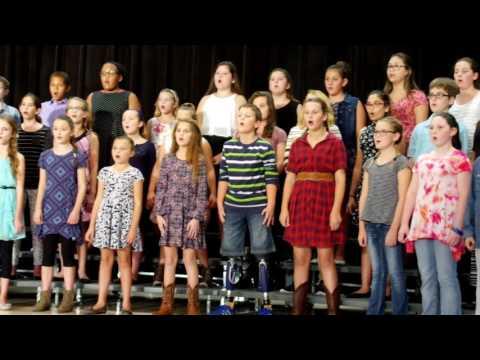 Northpointe Intermediate School 2016 Fall Choir Show Part 4