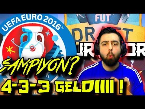 EURO 2016 Challenge | Fifa 16 FUT Draft SURVIVOR | 40.Bölüm | Ps4