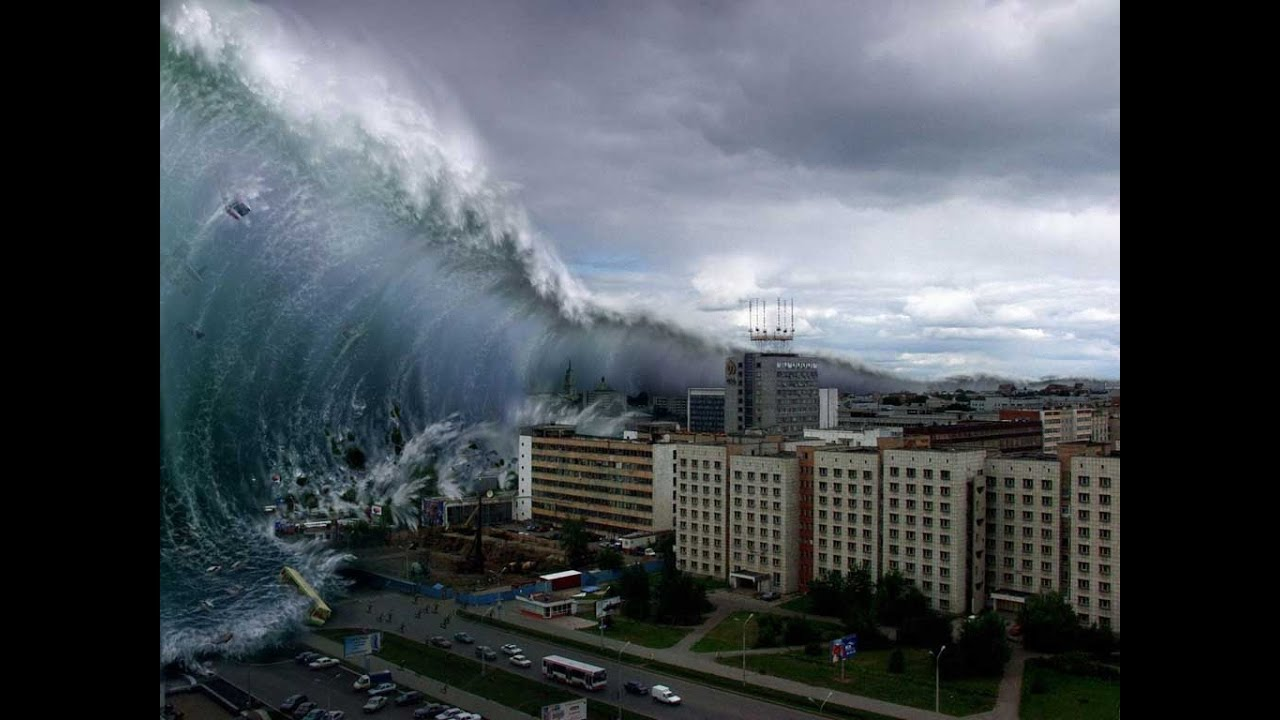 Biggest tsunami in the world ✿Japan tsunami 2011 raw footage ...