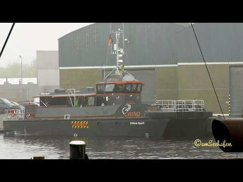 CWIND SPIRIT 2IUG3 IMO 7902128 MPC22 highspeed offshore crew boat Emden