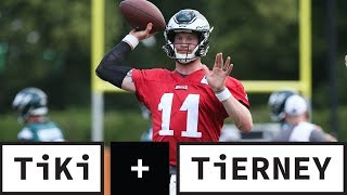 Has Carson Wentz Done Enough To Get His Mega Deal? | Tiki + Tierney