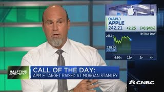 Gambar cover Apple stock hits record after Morgan Stanley sets top Street price target