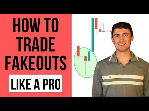 Trading fakeouts in forex