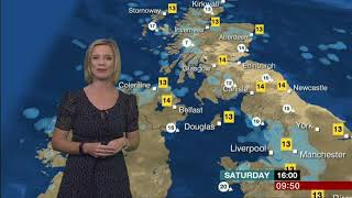 Sarah Keith Lucas BBC Breakfast Weather 2017 10 07