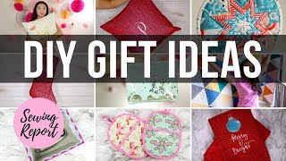 DIY Christmas Gift Ideas 🎁 10 Sewing, Quilting, Embroidery Projects | SEWING REPORT
