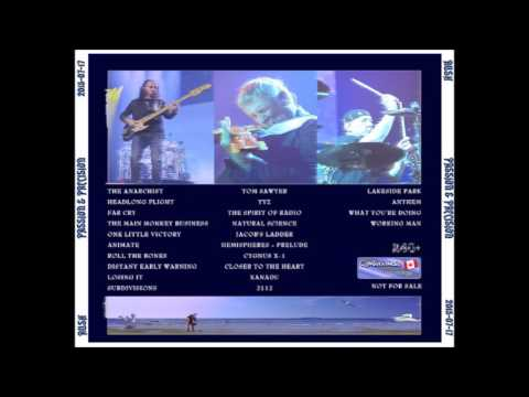 "Rush - ""Passion and Precision"" ROIO (Full Show) 07/17/15"