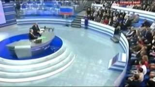 Казус во время прямой линии с Путиным