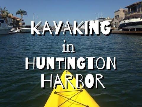 Huntington Harbor Boat Als Kayaking Experience ハンティントンビーチでカヤック
