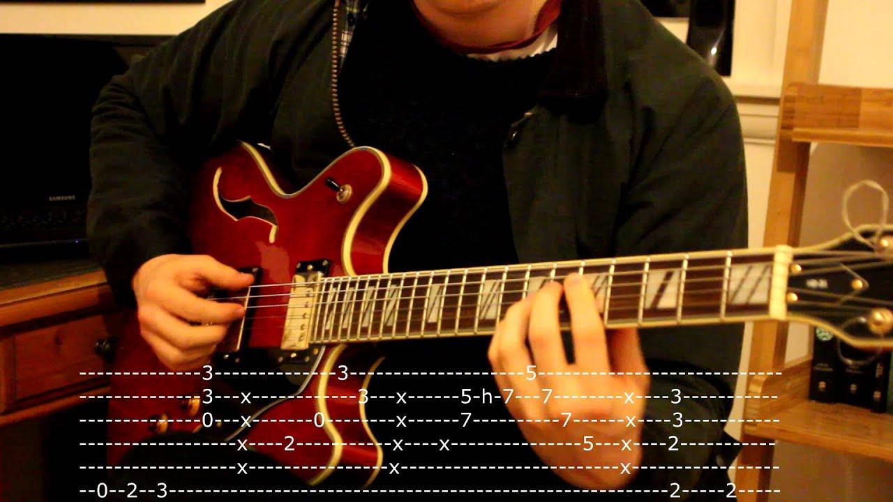 Isnt She Lovely Version Guitar Tab Youtube