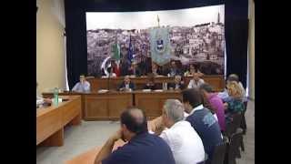 Bilancio in consiglio comunale a Matera. Lavori del Consiglio