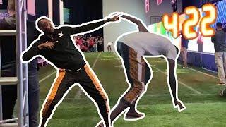 Usain Bolt 2019 Super Bowl 4.22 40-Yard-Dash