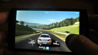 LG F60  Real Racing 3 game test