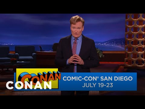 Conan Is Returning To Comic-Con® July 19-23  - CONAN on TBS