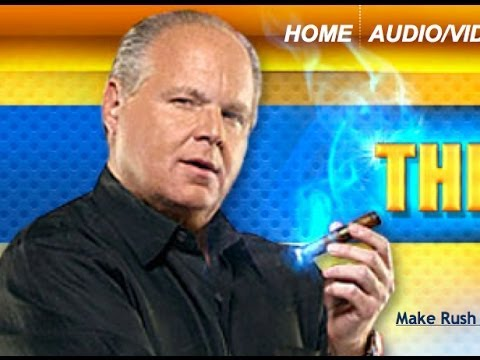 Rush Limbaugh Healthcare Reform - Do Nothing!