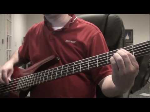 Taylor Swift — You Belong With Me — Bass Cover