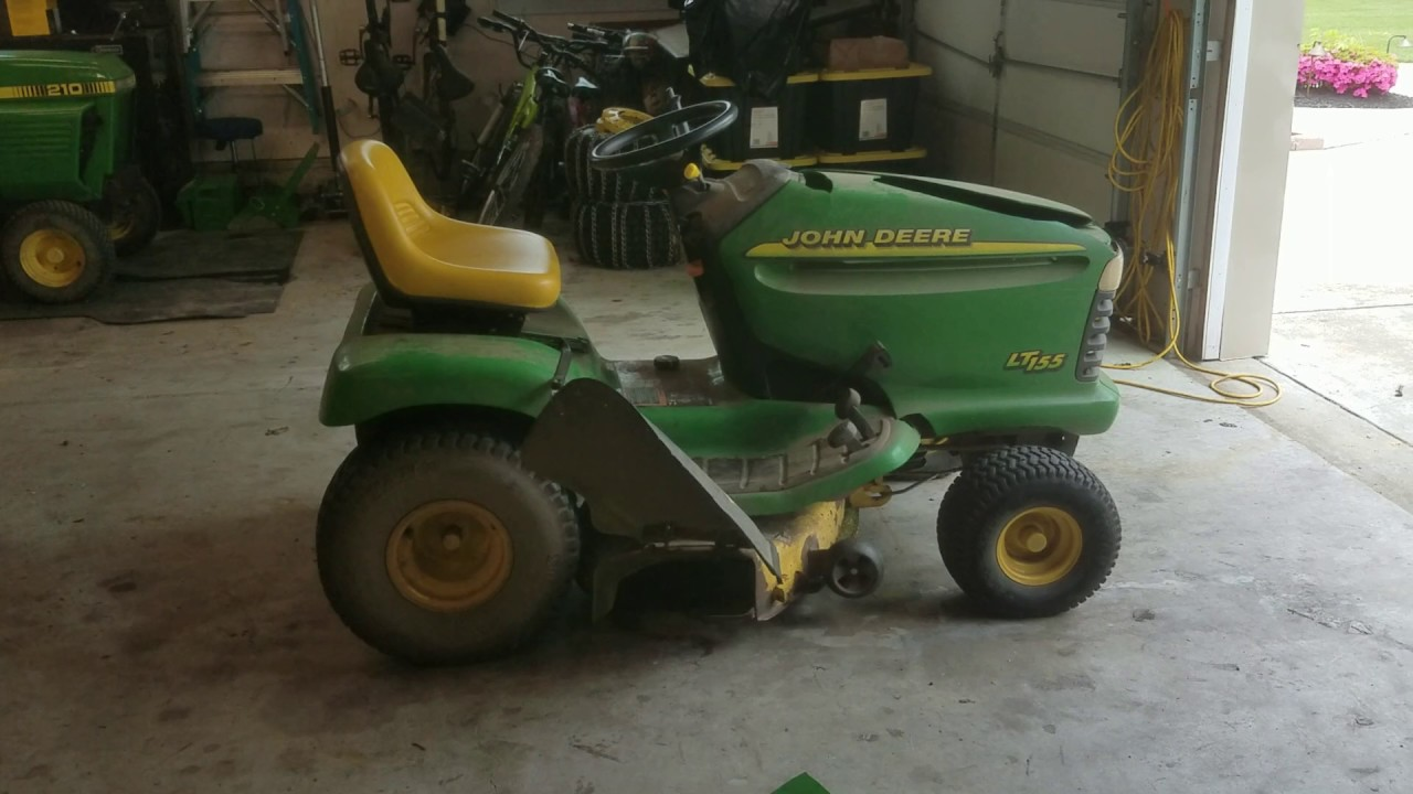 A New Project 2000 John Deere Lt155 First Start In 3 Years