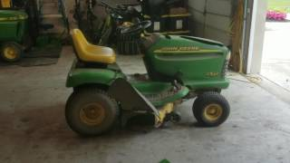 A New Project - 2000 John Deere LT155 (First Start in 3 Years)