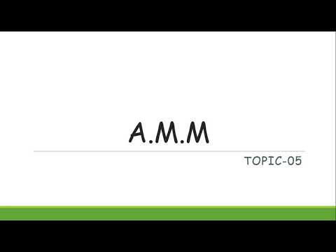A.M.M Topic-05