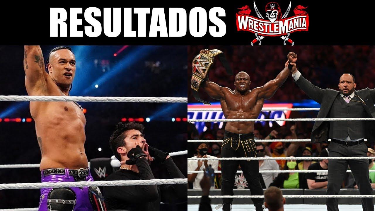 RESULTADOS DE WWE WRESTLEMANIA 37 (NOCHE 1)
