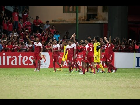 Maldives vs Palestine: AFC Challenge Cup 2014 (Full Match)
