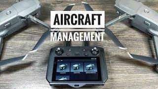 """DJI Smart Controller """"Aircraft Management"""" Overview"""