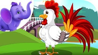 Cocks Crow - Nursery Rhyme with Karaoke