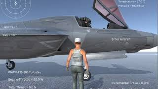 Silantro Unity3D Flight Simulator: Third Person Pilot System Test