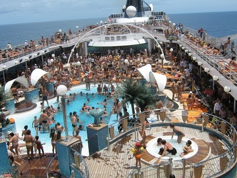 Compacto do cruzeiro no navio msc musica fev 2009 youtube for Musica piscina
