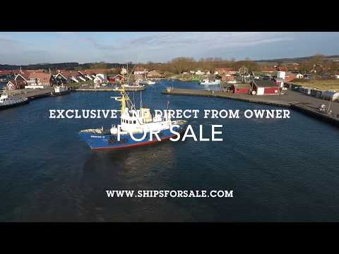 Shipsforsale Sweden ice going Norwegian rescue vessel Servus 2 Danish maritime pilot ship