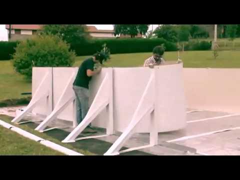 Video di montaggio piscine gre ovale macchiashop youtube for Piscine bois octogonale