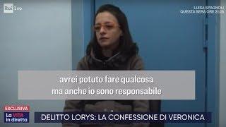 Veronica Torna In Aula   La Vita In Diretta 26/11/2019