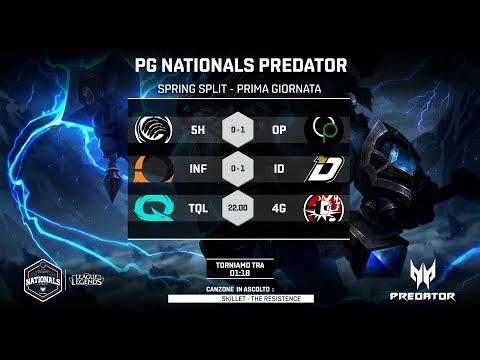 PG NATIONALS PREDATOR - PRIMA GIORNATA - TQL vs 4G