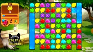 Lets play Meow match level 195 HARD LEVEL HD 1080P