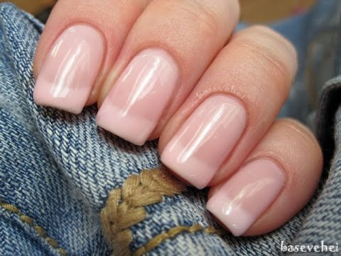 Easy Classic Prosty French Manicure