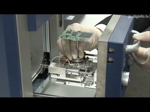 絶縁物試料も前処理なしで観察・分析可能な卓上電子顕微鏡