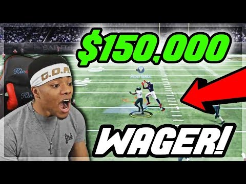 $150,000 COIN WAGER! HE EXPOSING MY USER! | God Squad #65 | Madden 18 Ultimate Team | Jmellflo