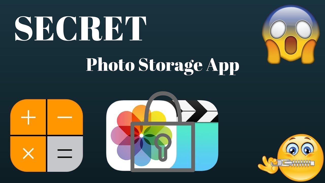 Secret storage app