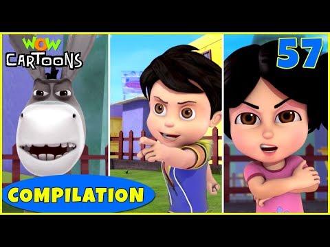 Vir The Robot Boy   Action Cartoon Video   New Compilation - 57   Kids Cartoons   Wow Cartoons