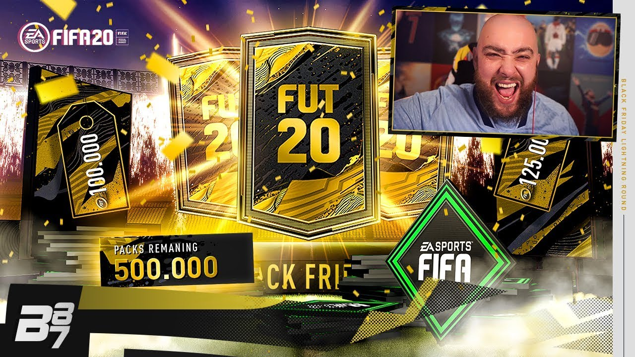 Wow Crazy Double Inform Pack Black Friday Lightning Rounds Fifa 20 Ultimate Team Youtube