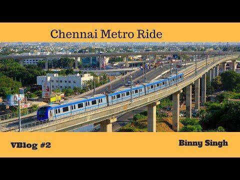 Chennai Metro Train - Ekkaduthangal to CMBT