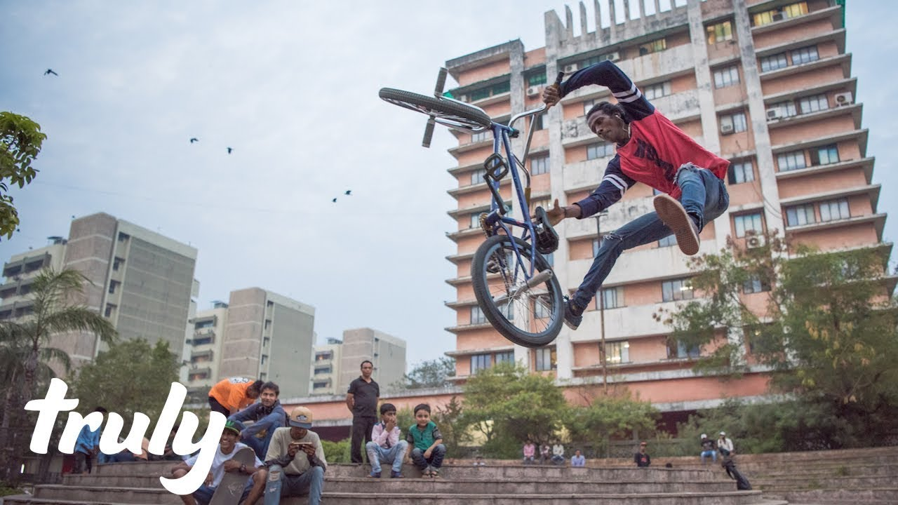Indian Slum Kid Becomes Insane BMX Champ | TRULY