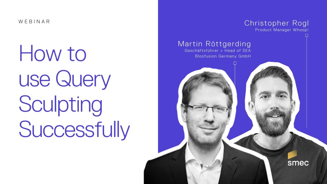 Illustration of Webinar about query level bidding