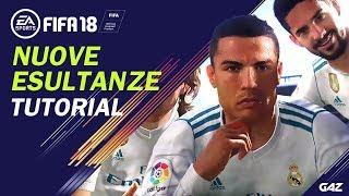 FIFA 18 TUTORIAL | COME FARE TUTTE LE NUOVE ESULTANZE! [Dybala Mask, Mannequin, Hotline Bling...]