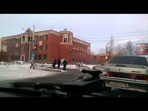 Краснотурьинск из окна автомобиля