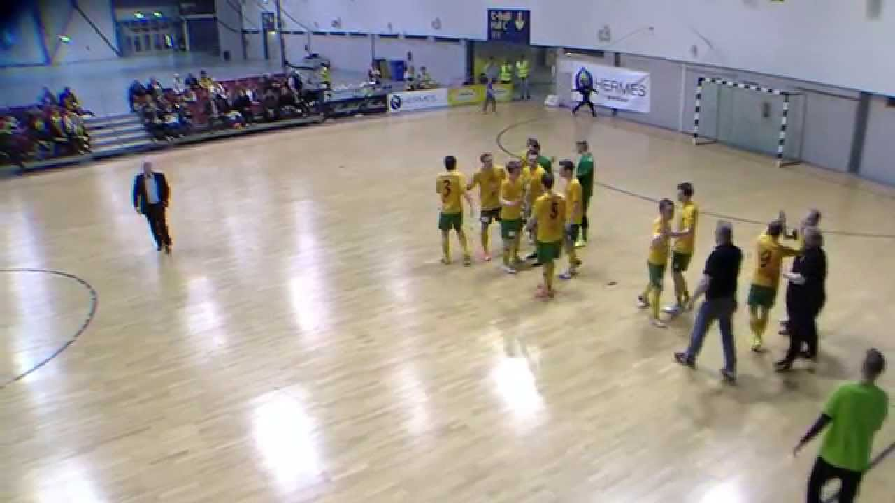 Ilves FS-GFT 1-0 pronssiottelun maali 26.4.2015 Tampere - YouTube
