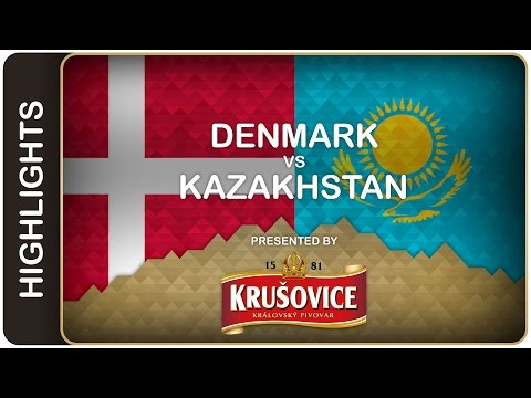 Denmark throws down the gauntlet - Denmark-Kazakhstan HL - #IIHFWorlds 2016 - 동영상